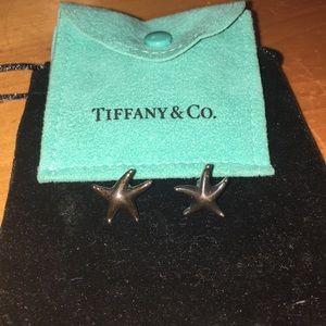 Tiffany & Co Elsa Peretti Starfish Earrings